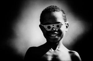 Boy of the Dani tribe in Irian Jaya (1982)