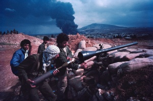 Lebanon Palestinian fighters in Tripoli (1984)