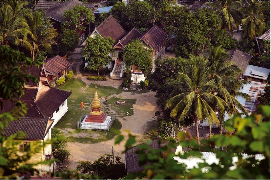 Wat Apai in Luang Prabang, Laos.