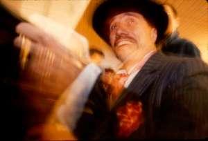 James Eddie Olmos while filming in Poland