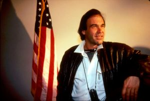 Oliver Stone in Texas while filming Born…