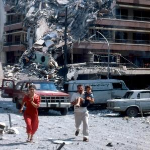 Airstrike in Beirut (1982)