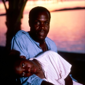 Danny Glover with daughter in Borneo