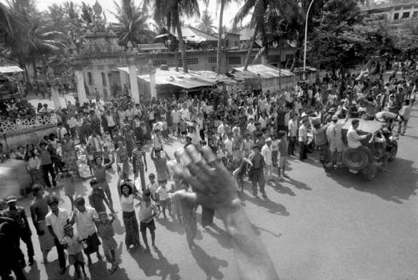 The Fall of Phnom Penh to the Khmer Rouge on April 17, 1975