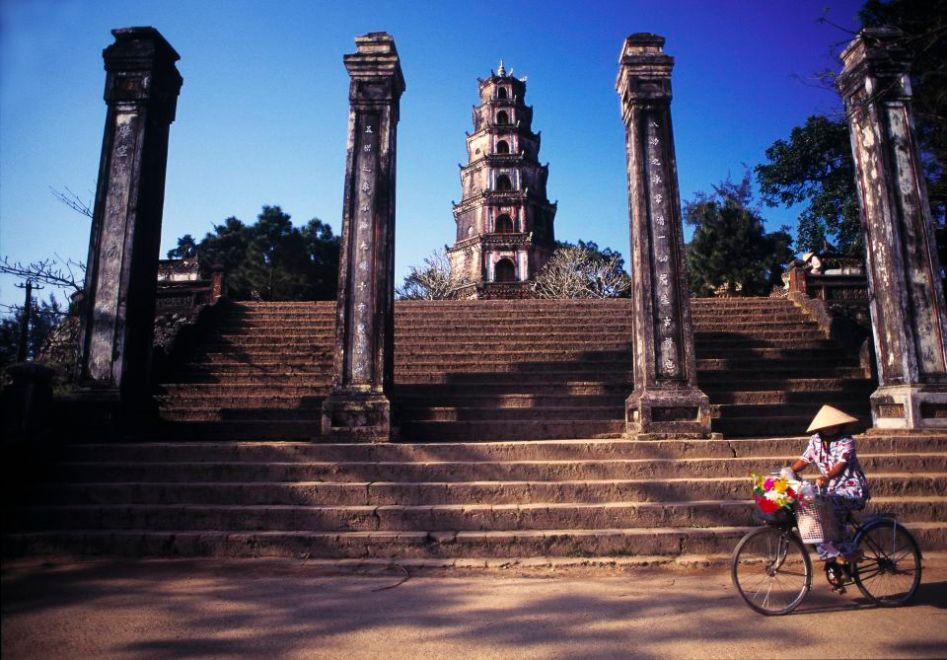Tien Mu Pagoda, Hué, Vietnam.