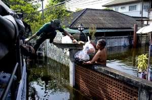 Flooding Bangkok 2011- Thonburi