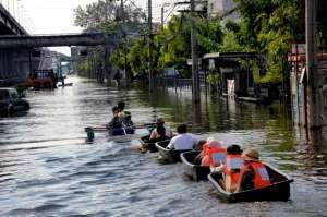 Flooding Bangkok 2011_Thonburi