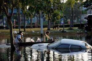Flooding Bangkok 2011-Pathum Thani