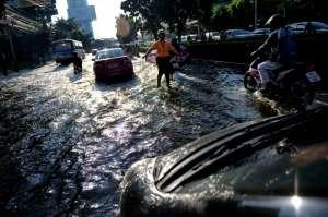 Flooding Bangkok 2011 - North of Bangkok city