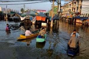 Flooding Bangkok 2011_ Rangsit area