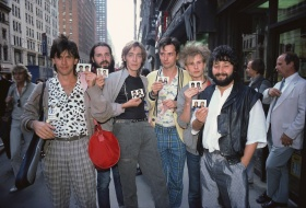 Soviet first time rock band in America, Stas Namin in NYC 1983