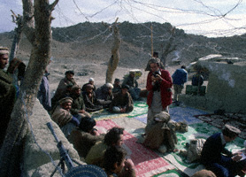 Trip in Afghanistan to photographs the first Soviet POWs of the mudjahedeen (1981)