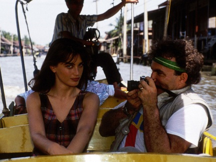 With Amanda Pays in Bangkok (1988)