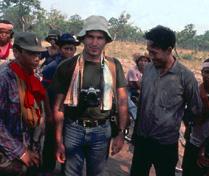 On the Thai-Cambodian border (1980)