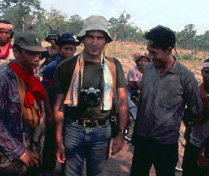 On the Thai-Cambodian border (1980)