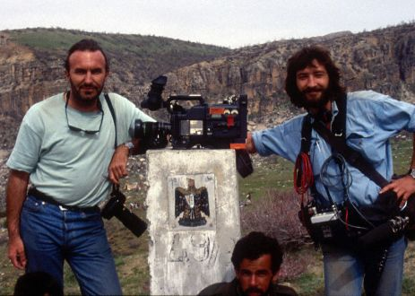 Shoot a story on Kurds refugees for TV in Northern Irak (1991)