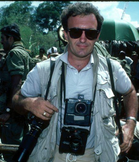 While shooting on Platoon (1986)