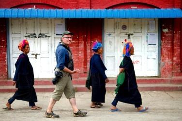 In Inle Lake, Burma