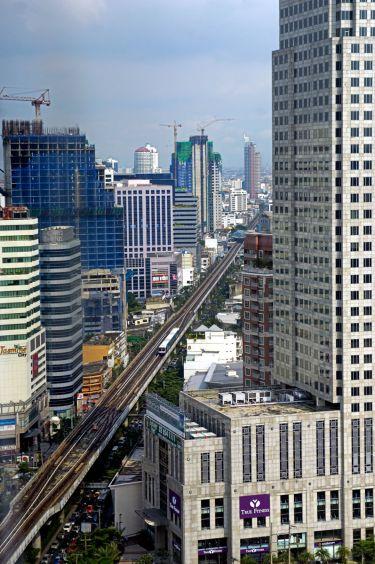 BTS line on Sukhumvit (Bangkok)