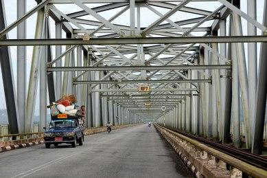 The Bridge at Moulmein (Burma)