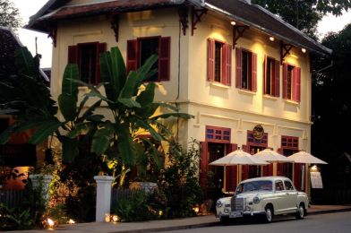 The 3 Nagas Residence in Luang Prabang (Laos)