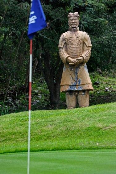 9th hole at a private Khao Yai golf course