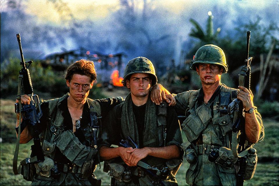 Platoon movie cast