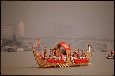 Royal barge in Bangkok