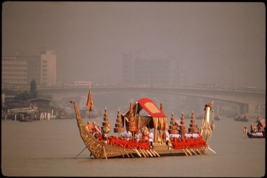 Royal barge in Bangkok