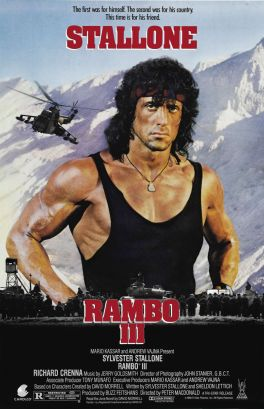 Rambo 3 Sylvester Stallone movie poster_2