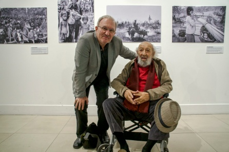 In Istanbul with Ara Guler at my exhibition