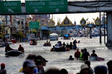 Flooding Bangkok 2011