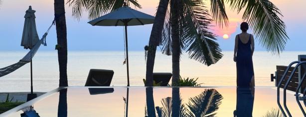 Beach-side resort personal shoot
