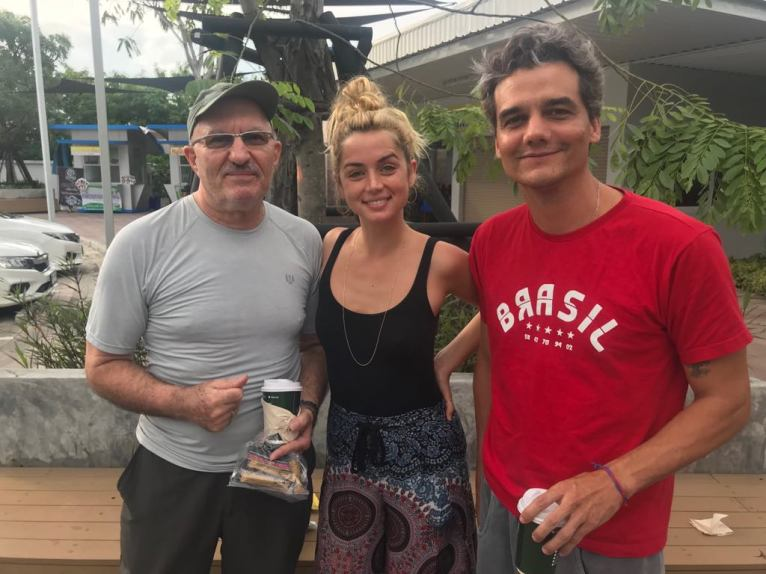 Snap with Anna de Armas and Wagner Moura