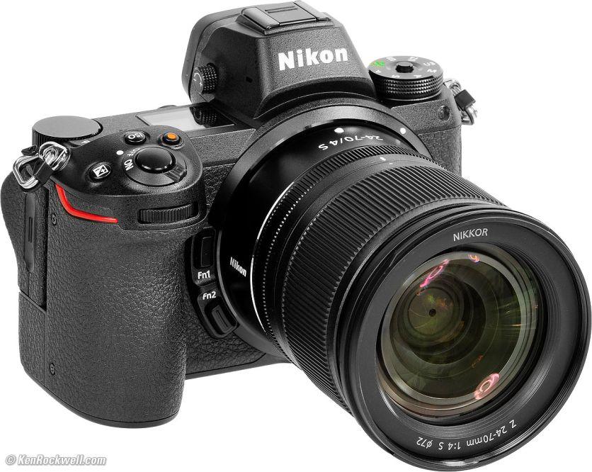 Nikon Z7+24-70mm